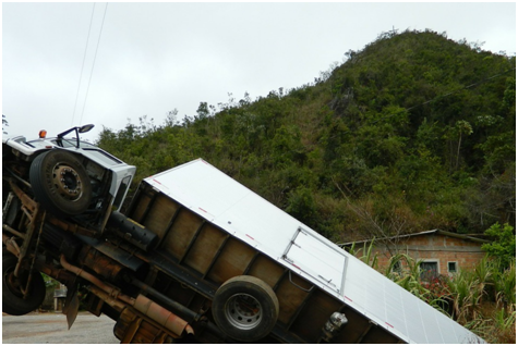 How to Avoid Large Truck Accidents