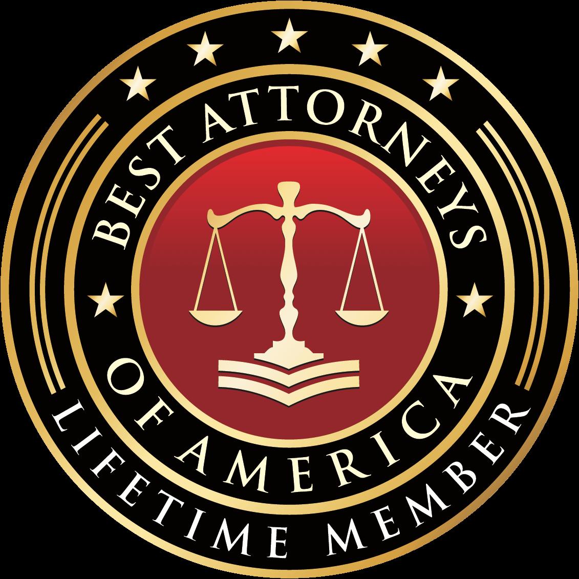 Best Attorneys Of America - Lifetime Member